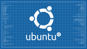 Ubuntu Blueprint Wallpaper Rev. 2 by poulsen93