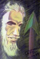 Oliver Queen (Green Arrow) Pastel by LUCIUSFate