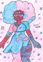 Cotton Candy Garnet by XxGreenNinjaChickxX