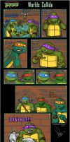 TMNT 2003 COMIC Worlds Collide by 1234LERT7Nan2