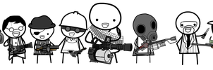 Tf2 Chibi things by StillApony
