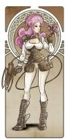 Steampunk Girl Revisited by TheWitchOfOz
