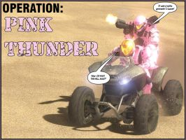 Operation Pink Thunder by ZeekyPoe