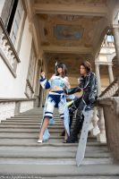Squall and Rinoa by Furesiya by Eyes-0n-Me