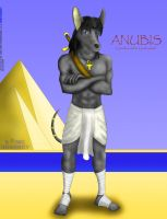 Anubis by SonicHomeboy