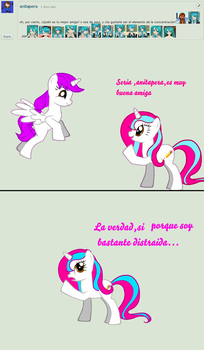Ask me pony 1 by Fionnin4ever