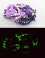 dragon dreamers - glow in the dark by claymeeples