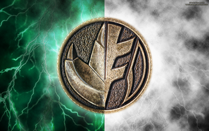 New MMPR HD Power Coin Wallpaper (Hybrid) by RussJericho23