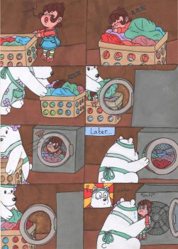 Washing machine- Comic W.I.P by JessicaMario