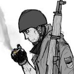 WWII US Soldier by maxviolence