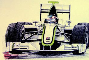 Brawn GP car by Galbatore