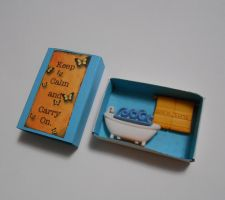 Relax Matchbox Shrine by kiddomerriweather