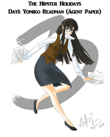 Day 3: Yomiko Readman by Pluffers
