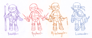 ~Turtle Ninja Warriors~ by Casadriss