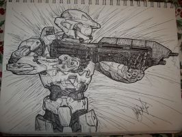 Master Chief by AestheticEngineer