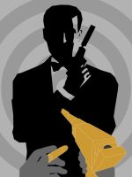 The man with the golden gun by JAMES-MI6