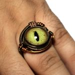 Steampunk EYE Ring by CatherinetteRings