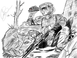 Scout Trooper by CodyBad