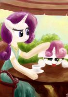 Tea Time by Mesperal