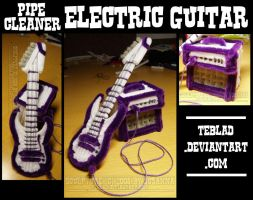 Pipecleaner Electric Guitar 2 by teblad