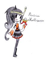 adventure time OC- princesa halloween by Bellaceline122