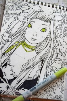 2017 Sketchbook - 07 by nati