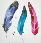 feathers IV by excentric