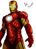 Iron Man coloring +WIP+ by katklich