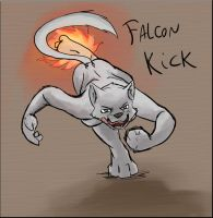 Falcon Kick by Dsurion