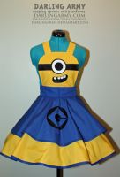 Minion -Despicable Me- Cosplay Pinafore by DarlingArmy
