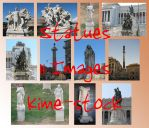 Statues Of Rome by kime-stock