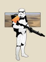 Storm Trooper by jasonbaroody