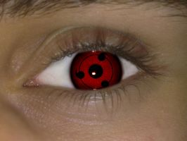Sharingan Eye by asdfgfunky