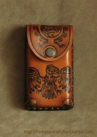 Leather mobile case - new by Fantasy-Craft