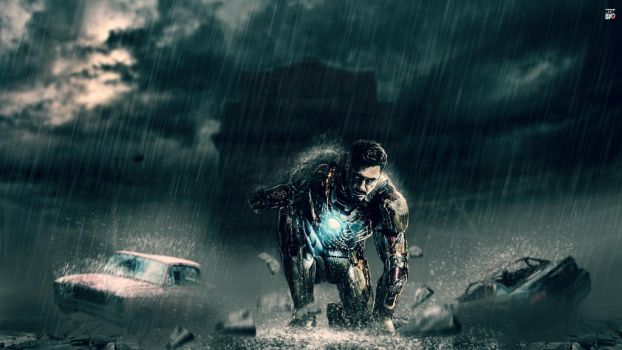 Iron man in India wallpaper HD by Ropn1996
