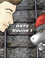 Dxt2 R1 cover by WerewolfDragonGirl