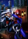 Black Cat Captured! - 2014 by sleepy-comics