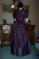 Back of Victorian outfit by Janes-Wardrobe