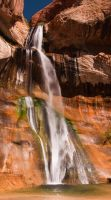 Calf Creek Waterfall by mikewheels