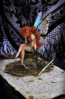 Proof of a Fae Fairy  Inkwell by SutherlandArt