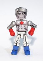 Captain Atom Custom Minimate by luke314pi