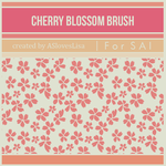 [For SAI] Cherry Blossom Brush by ASlovesLisa