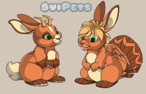 Lepus specie- Ovipets by SirKittenpaws