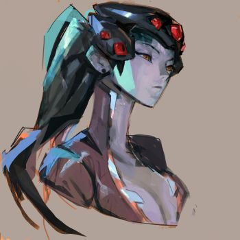 Widowmaker practice by samuelyounart