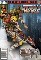 Steampunk Boba Fett (Final Cover Ver.) by JSRPhoenix