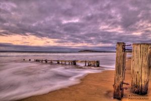 Raafs Beach hdr 3 by DanielleMiner
