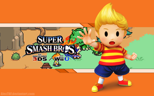 Lucas Wallpaper - Super Smash Bros. Wii U/3DS by AlexTHF