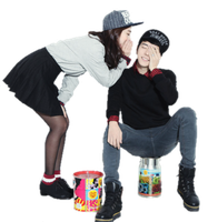 Ulzzang couple PNG by seouleater