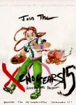 Xenogears 15th Anniversary Anthology Poster 01 by Rin-Uzuki