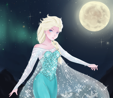 Frozen Elsa by sylphlox